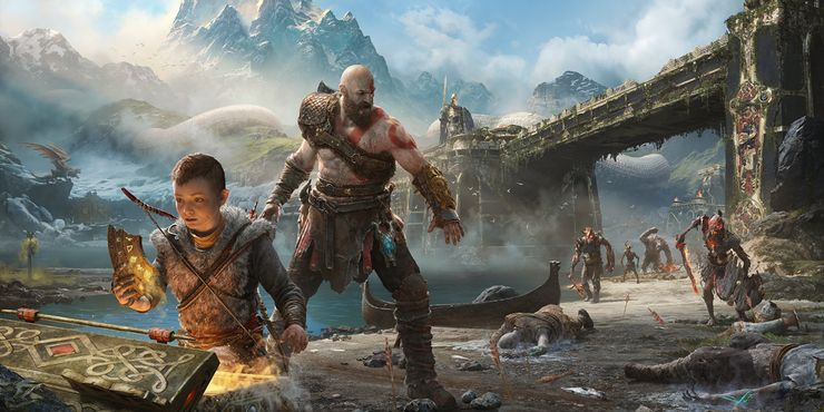 God Of War S Kratos Looks Even Scarier Without His Beard