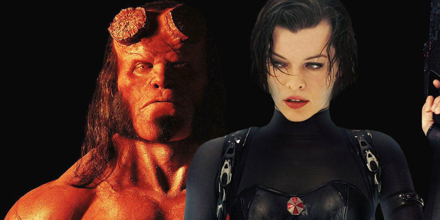 Hellboy Movie Banner T... Milla Jovovich Movies 2004