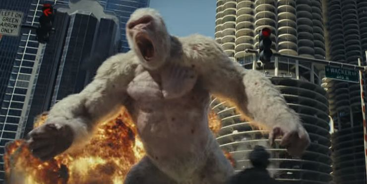 Rampage Movie All The Video Game References You Missed