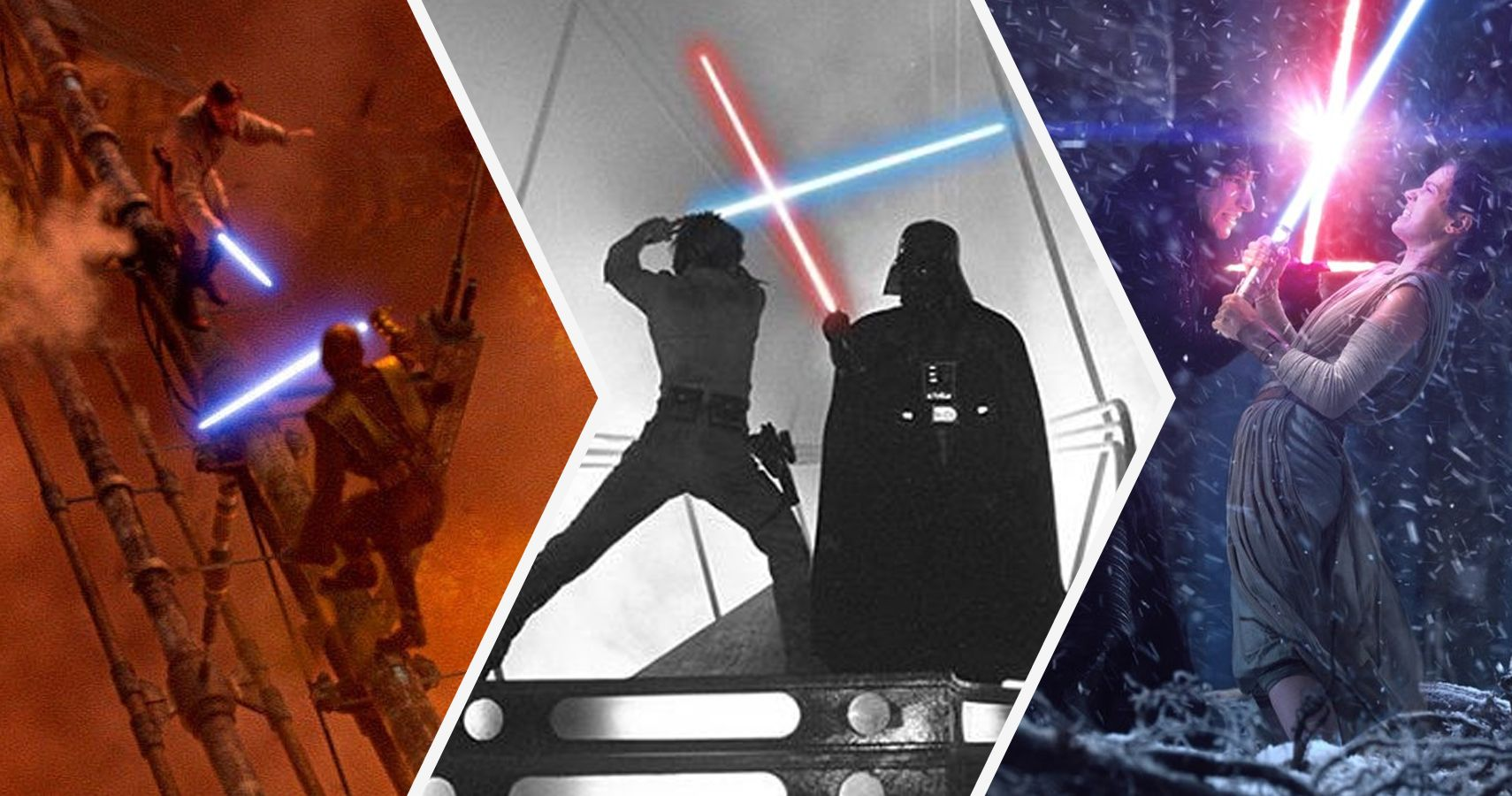 star wars the 10 best lightsaber fights ever and the 10 absolute
