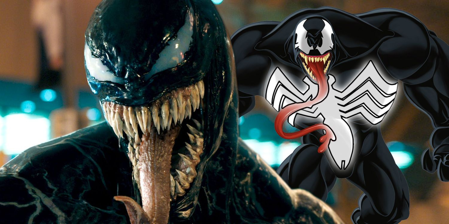 Why Venom Wont Wear The Spider Man Symbol Screenrant
