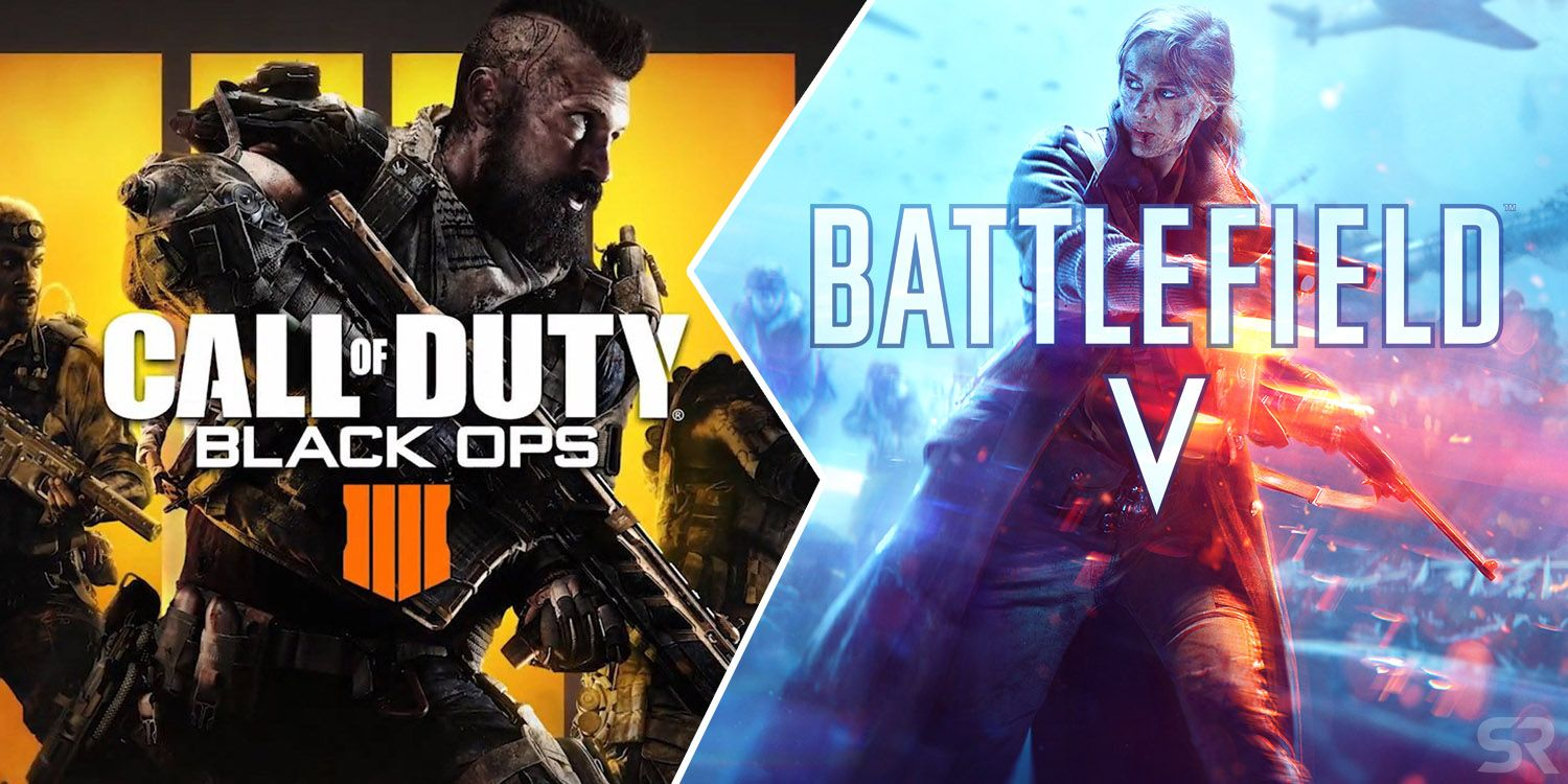 How Battlefield V Compares To Call Of Duty Black Ops 4