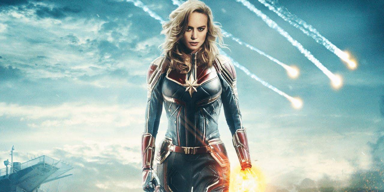 Captain Marvel Brie Larson Worried Mcu Role Would Be A Burden