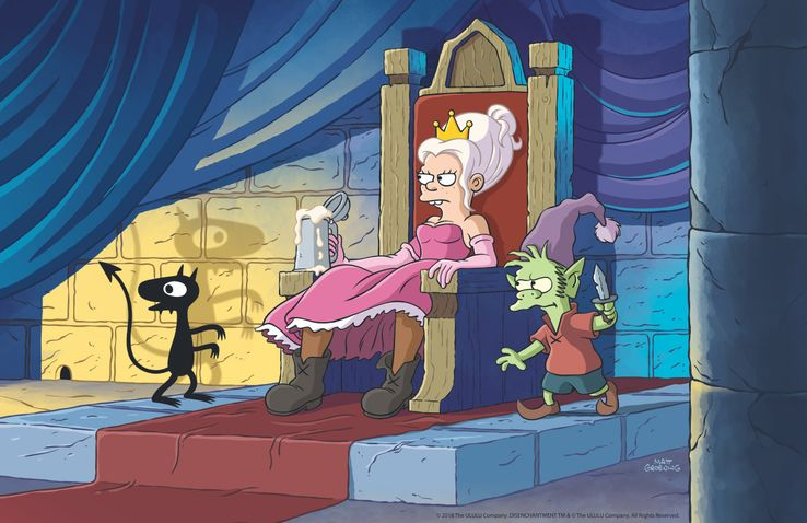 Disenchantment (Netflix) Bean-on-throne-fin-400dpi-1