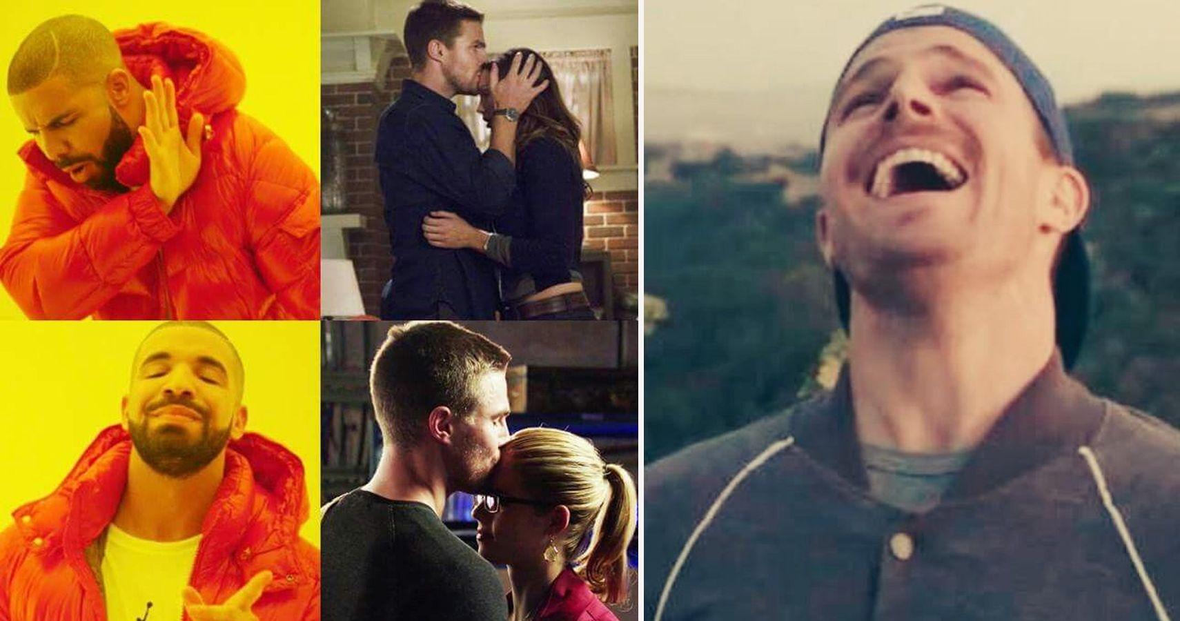 Arrow: 21 Hilarious Olicity Vs  Lauriver Memes That Make Fans Choose