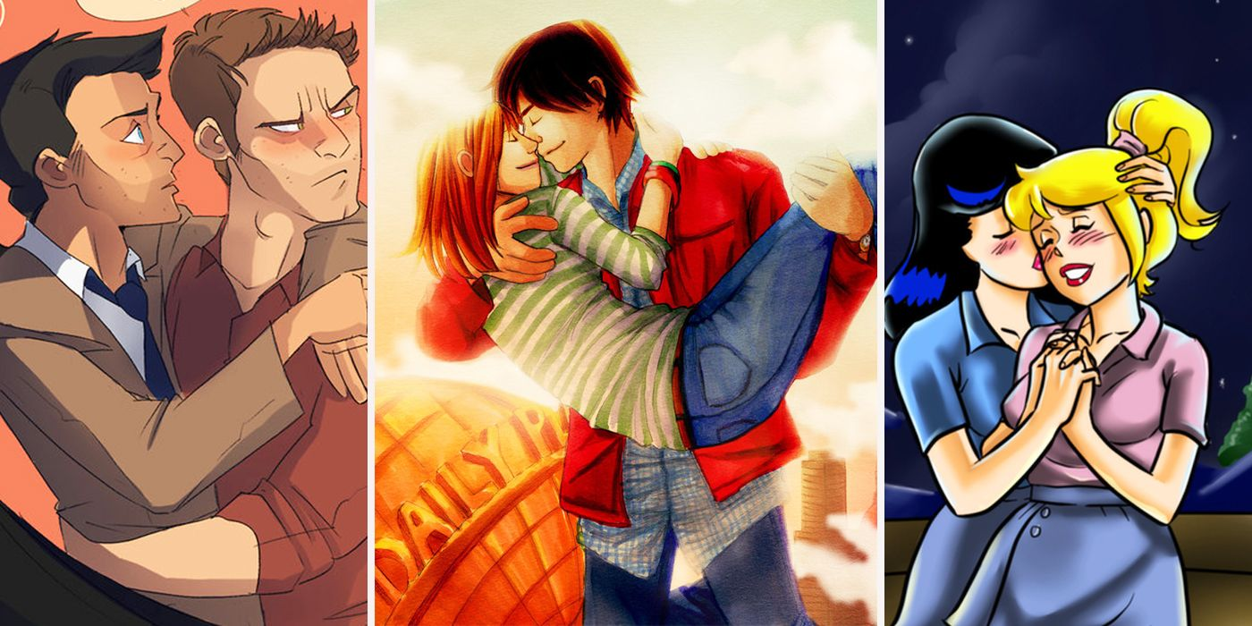 20 Crazy Fanart Of Unexpected CW Couples | ScreenRant