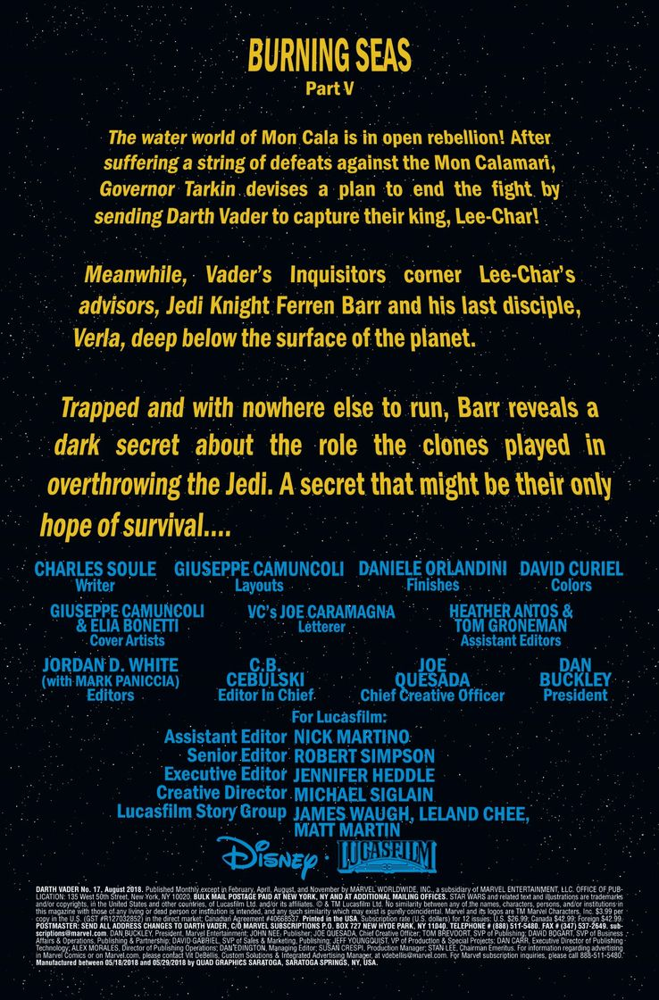 Episode IX: Spoilers and Rumors - Page 2 Darth-Vader-Comic-17-Preview-1