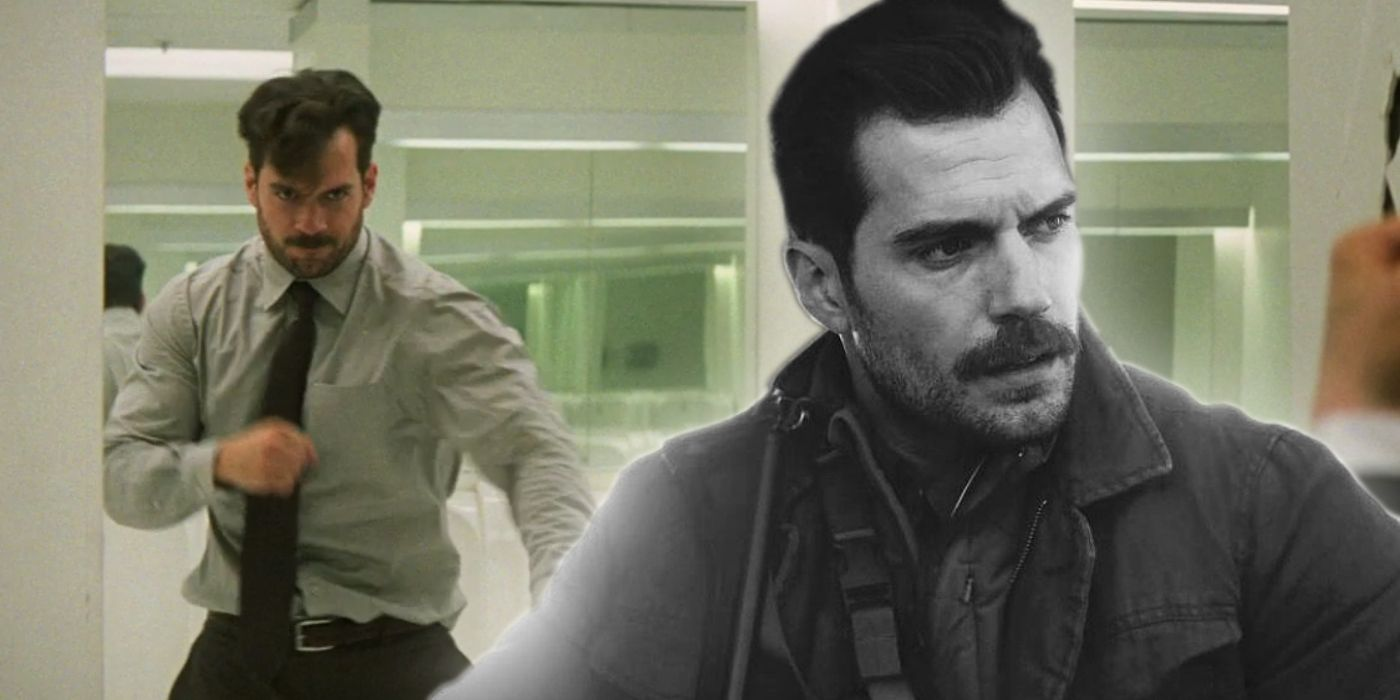 Henry Cavill 'Grows' A Beard Illusion In Mission: Impossible 6