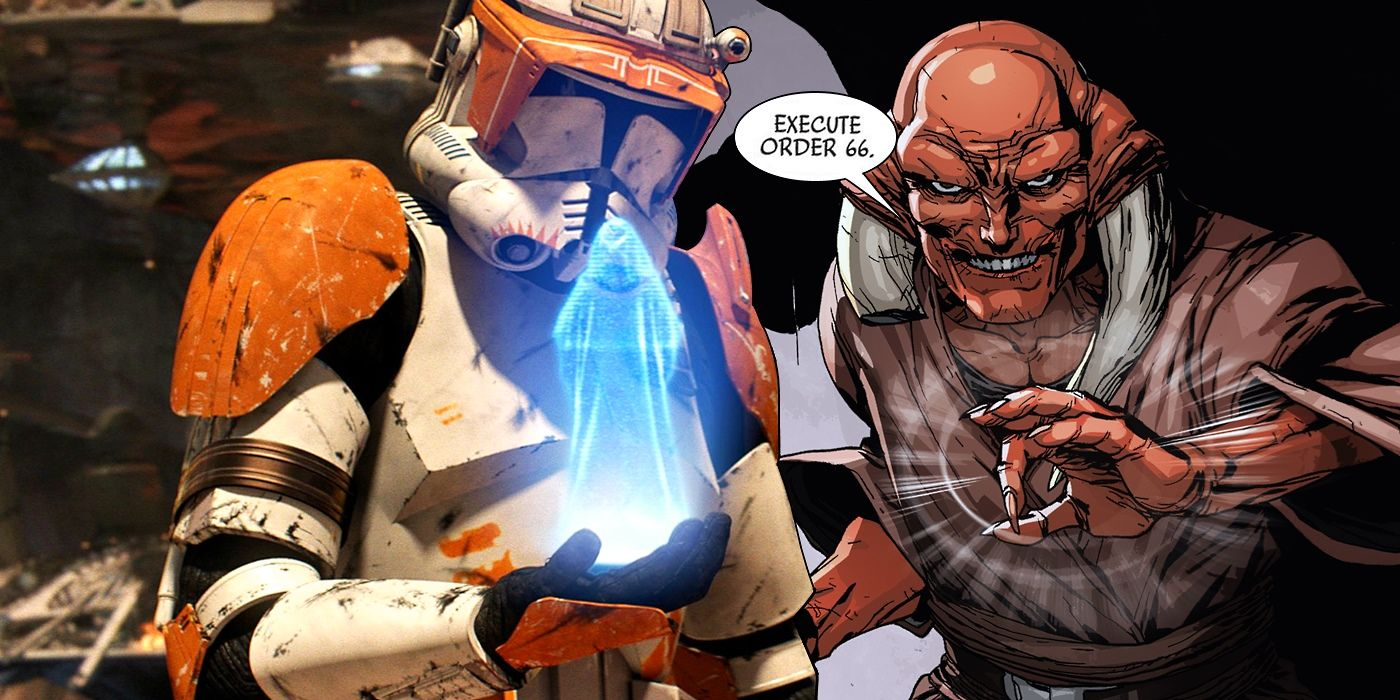 Star Wars Comic Explains Why Clones Followed Order 66