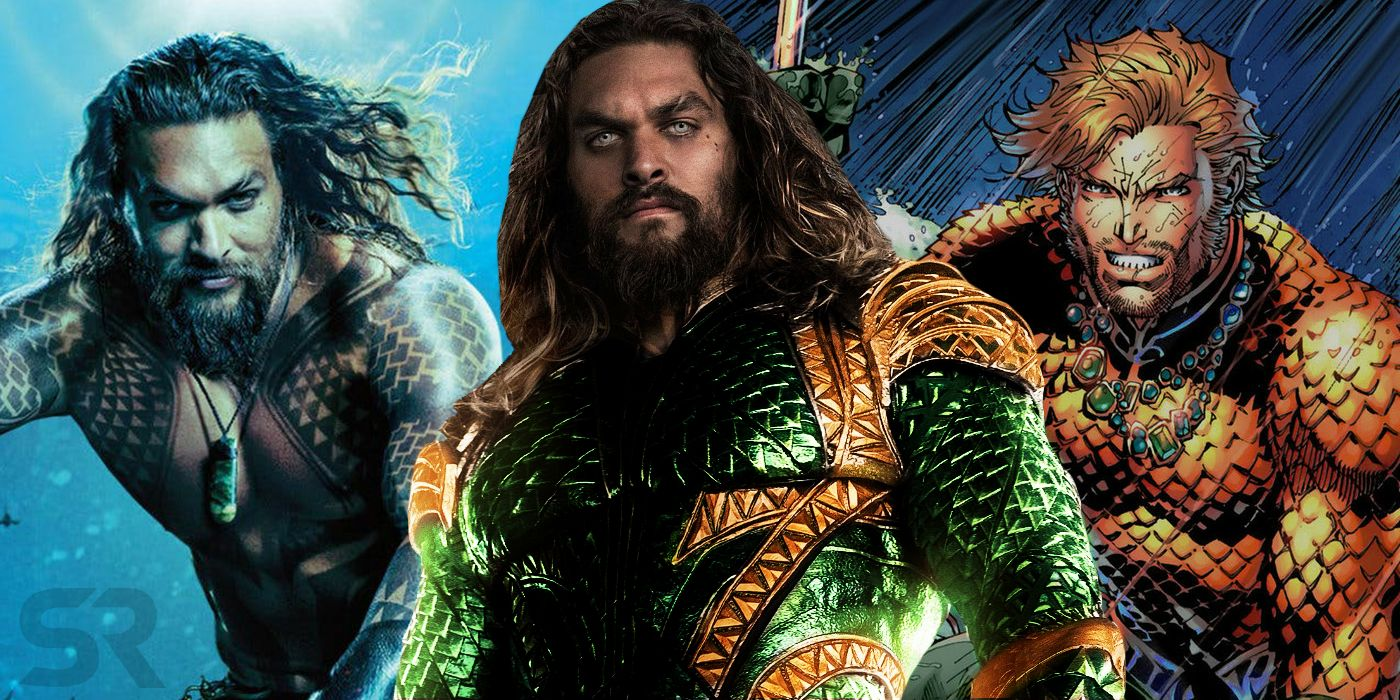 DC Fans Recreate Distracted Boyfriend Meme With New & Old Aquaman Costumes