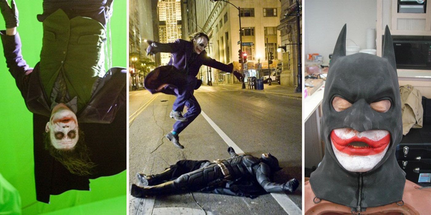 21 Behind-The-Scenes Photos From The Dark Knight That Change