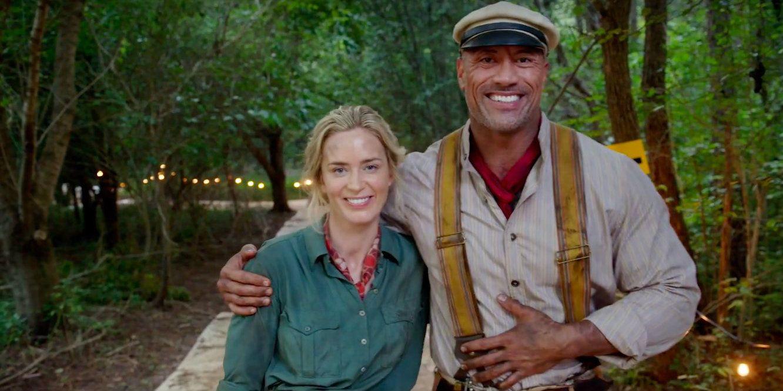 Jungle Cruise Images: Dwayne Johnson & Emily Blunt Return For Reshoots