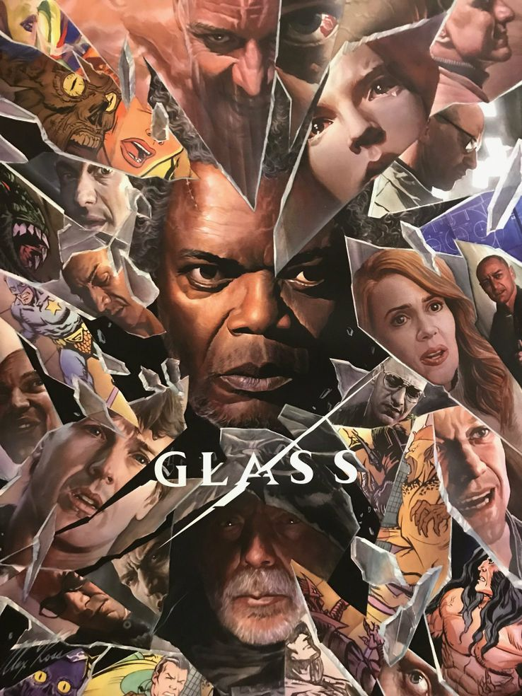 Glass (Night Shyamalan) Glass-Comic-Con-poster