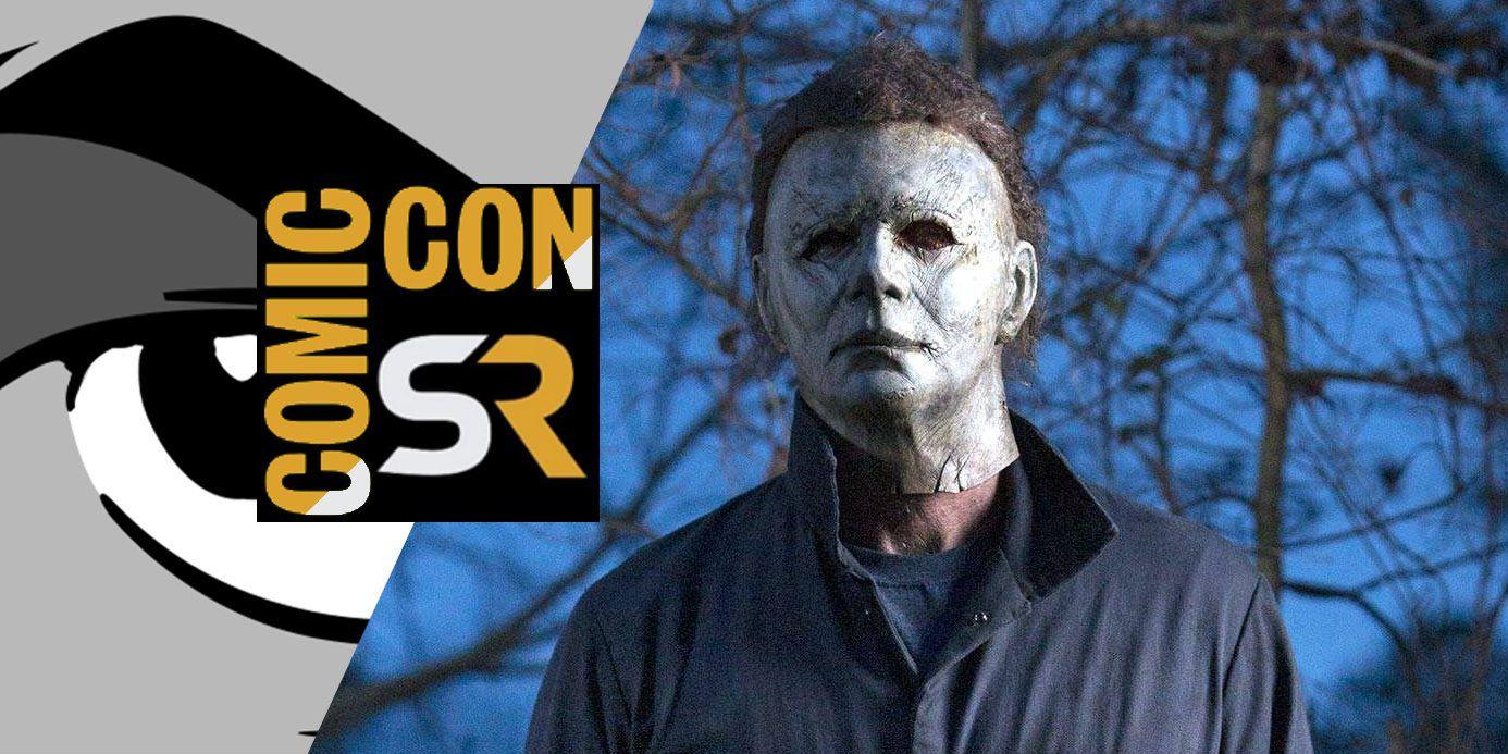 halloween 2018 comic con footage description screenrant