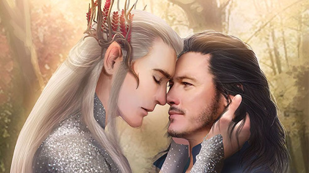 20 Crazy Fan Art Designs Of Unexpected Lord Of The Rings Couples