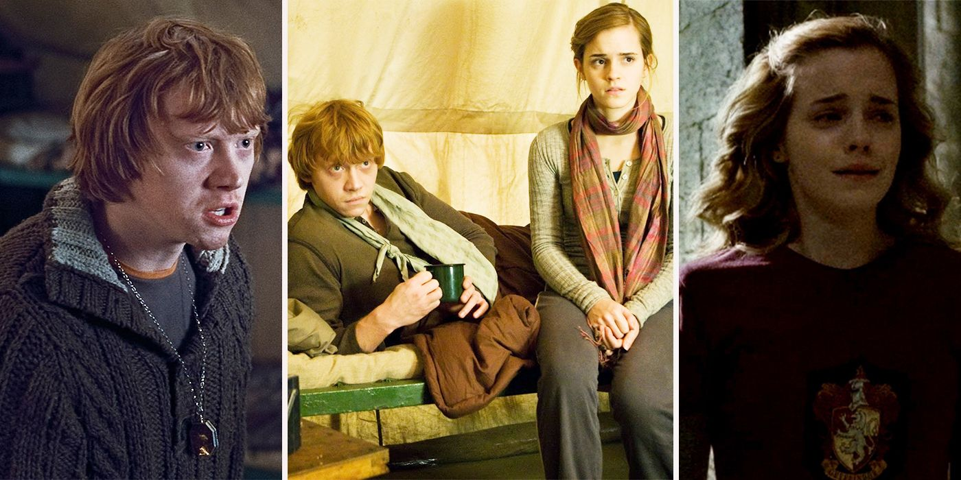 Marry hermione ron did why J.K. Rowling