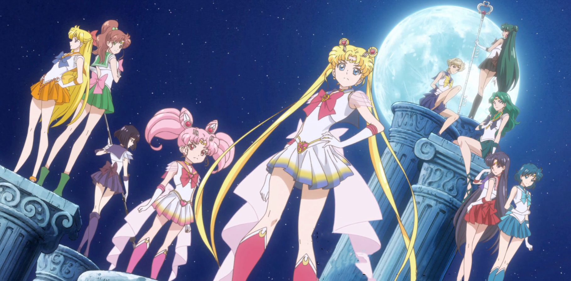 Sailor Moon: Every Sailor Senshi Ranked From Least To Most
