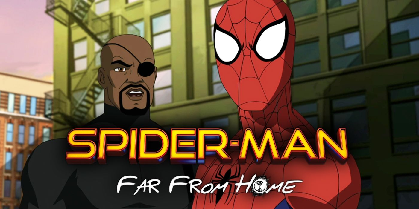 spider-man: far from home gets animated fan-made trailer