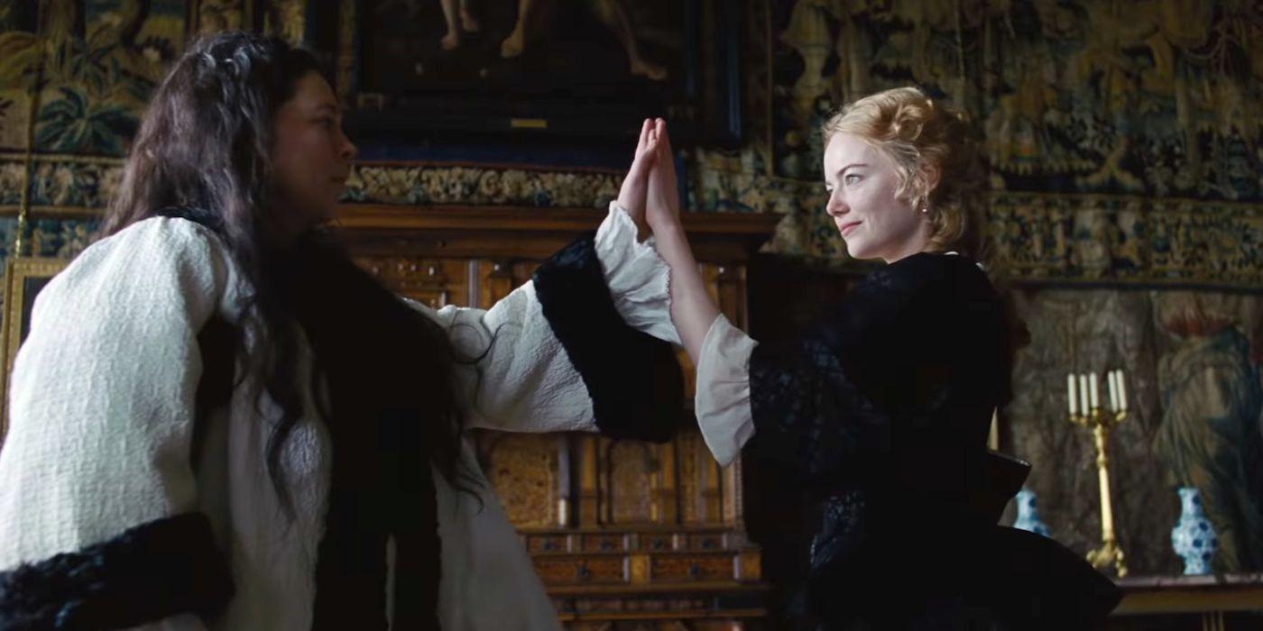 The Favourite: The Favourite Trailer: Rachel Weisz & Emma Stone Start A