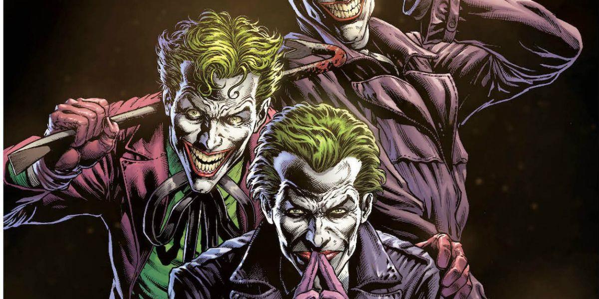 Resultado de imagem para batman earth one three jokers