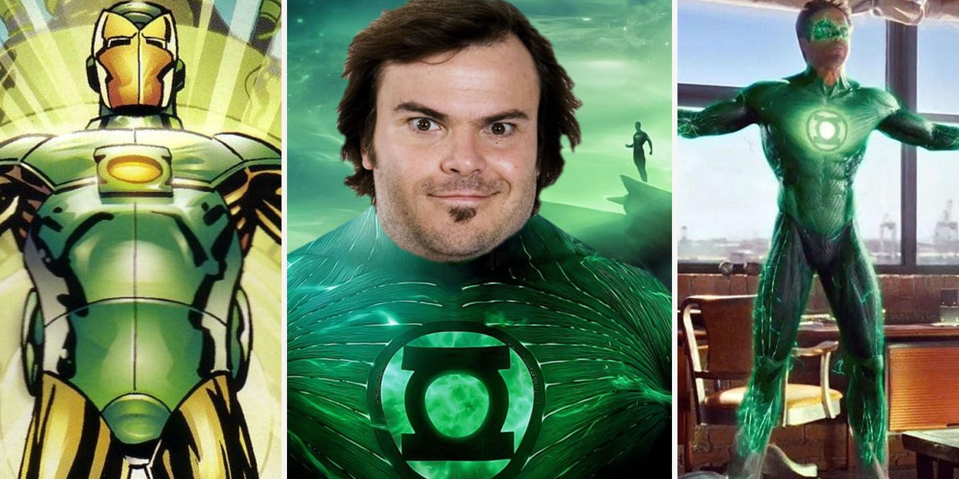 It's just a picture of Hilaire Pictures of Green Lantern