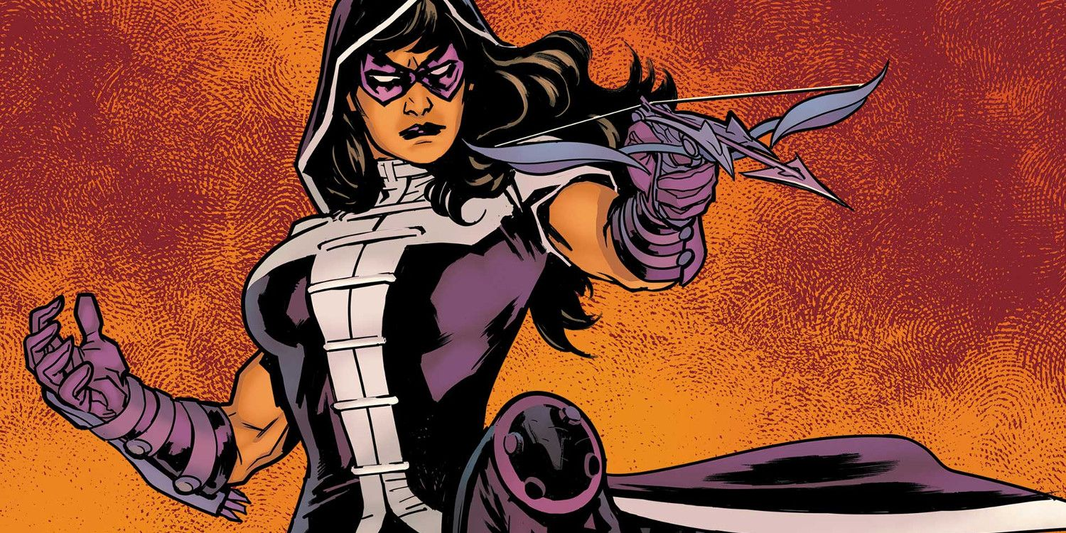 Crisis on Infinite Earths Set Photos Reveal Ashley Scott's Huntress