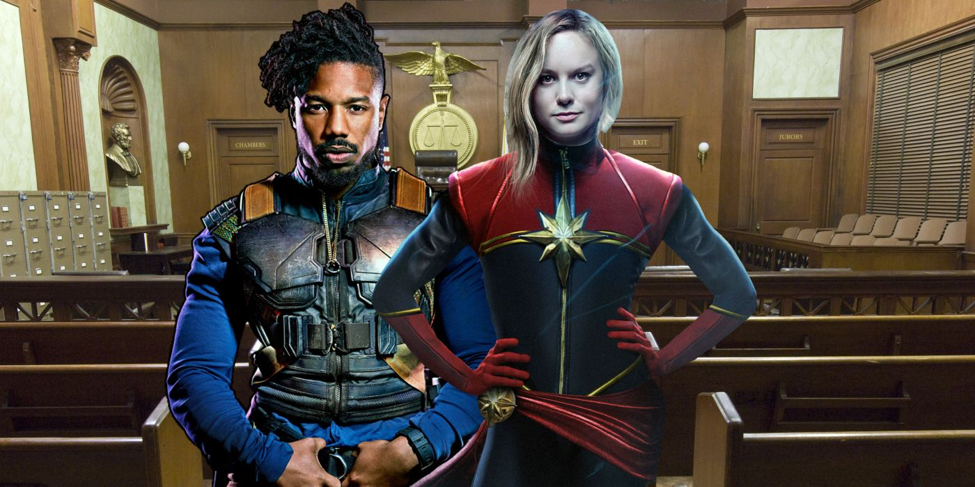 690e5c1eae45b4 TV and Movie News Brie Larson Joins Michael B. Jordan in Courtroom ...