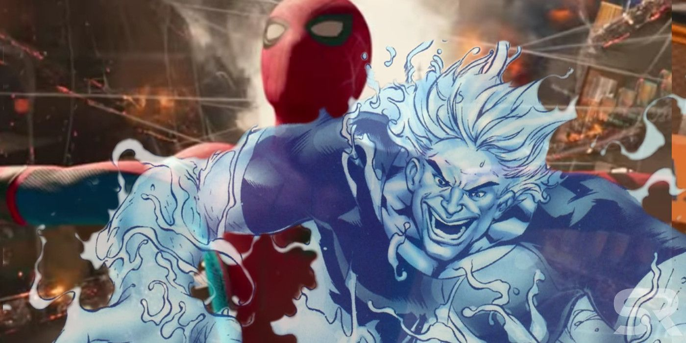 is spider-man fighting hydro-man in far from home? | screenrant