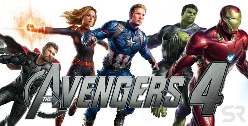 Original Avengers Assemble With Captain Marvel For End Game Fan