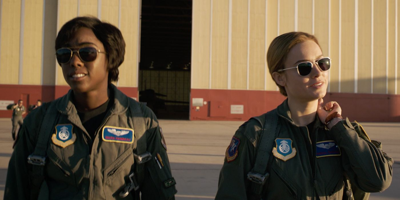 Image result for captain marvel and maria rambeau