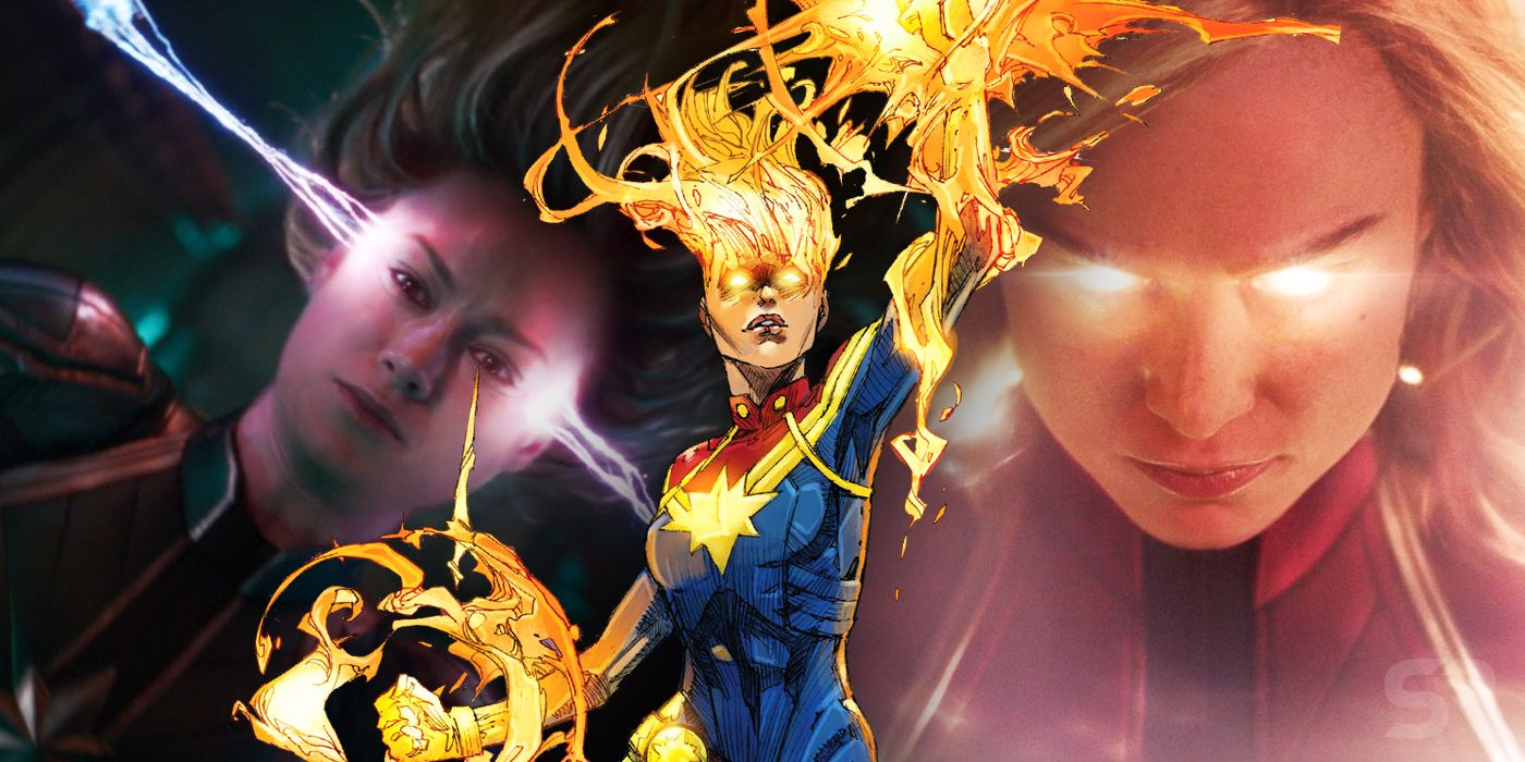 captain marvel theory binary powers are why carol is so overpowered