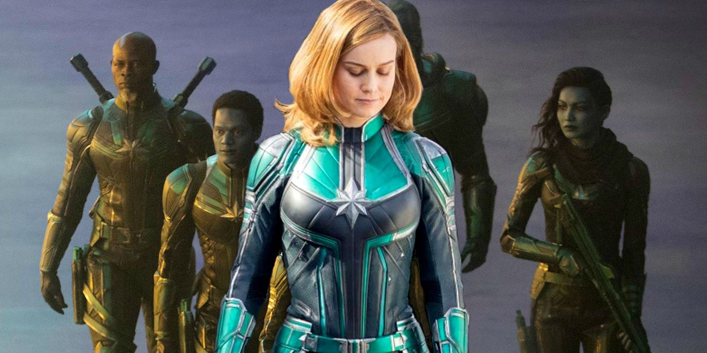 Why Captain Marvel S Movie Costume Is Green Screen Rant Captain marvel cosplay carol danvers cosplay costume top level. why captain marvel s movie costume is