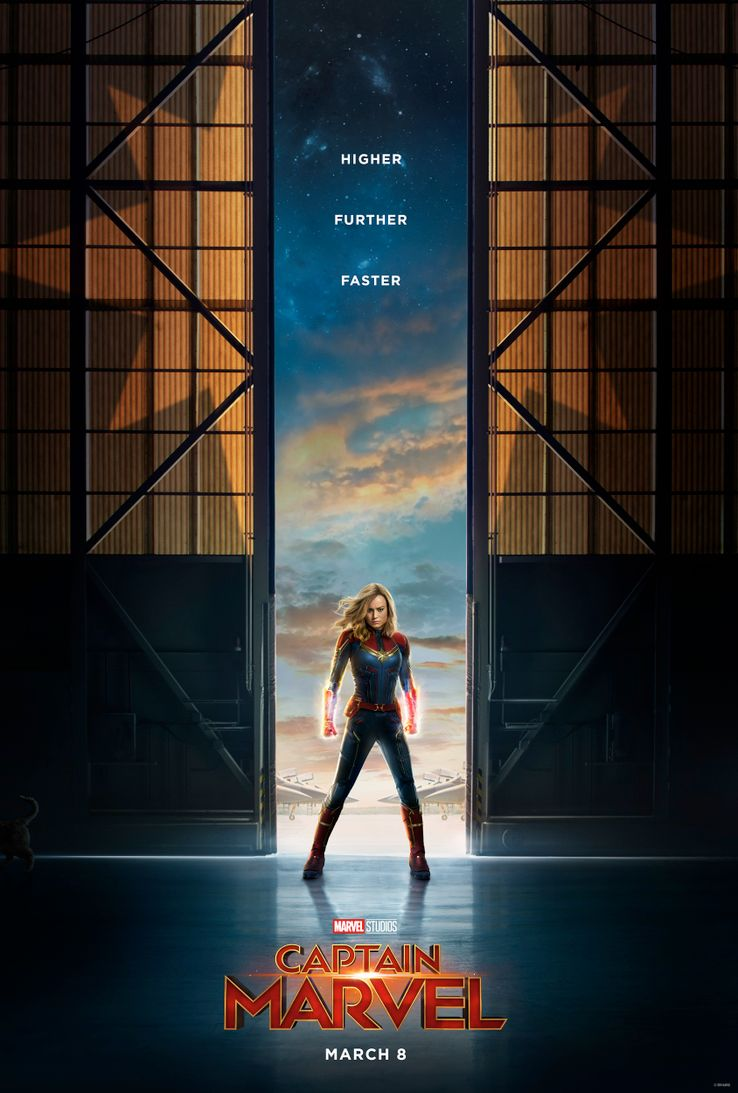 Captain Marvel ( Marvel) - Page 5 Captain-Marvel-official-movie-poster
