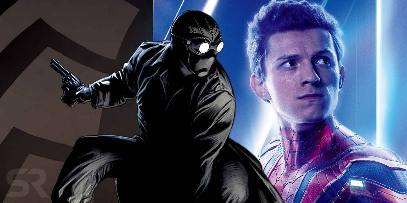 spider-man 2 set video reveals better look at noir-style suit
