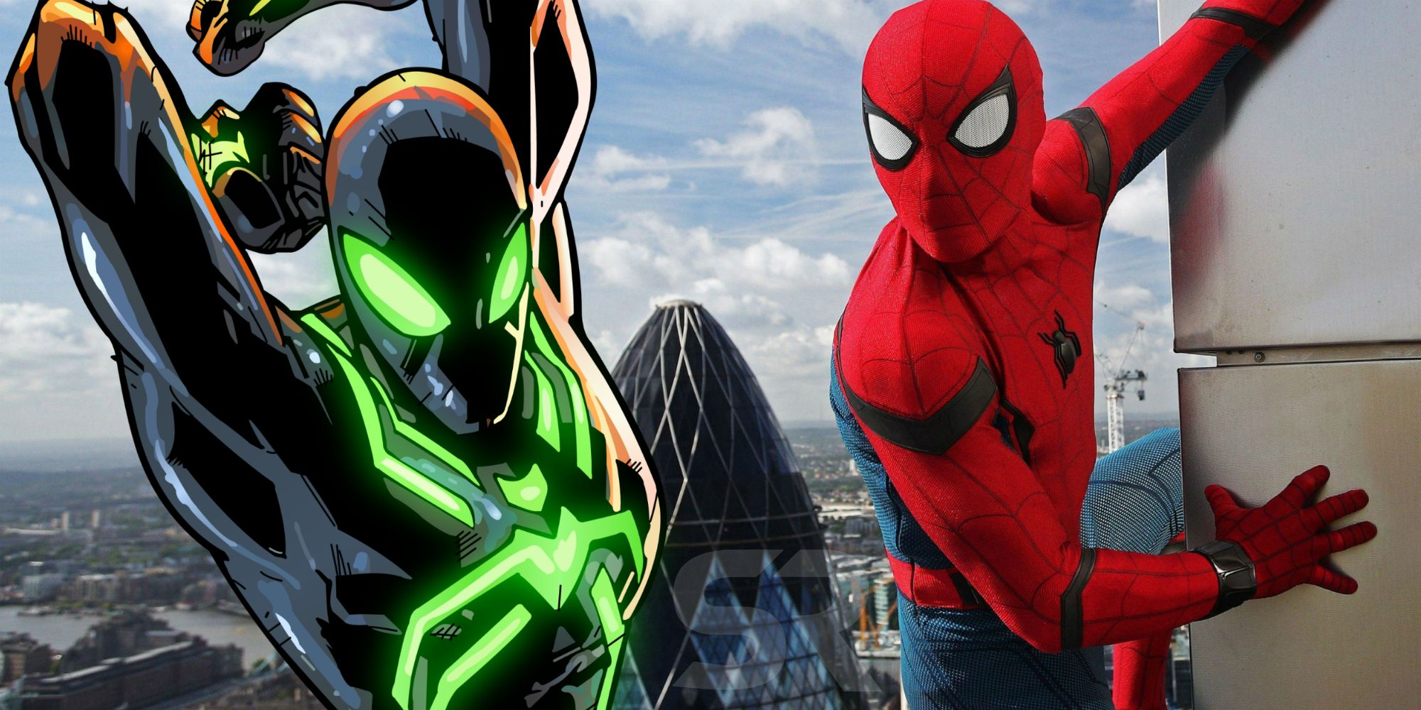 spider-man: far from home set photo may reveal stealth suit