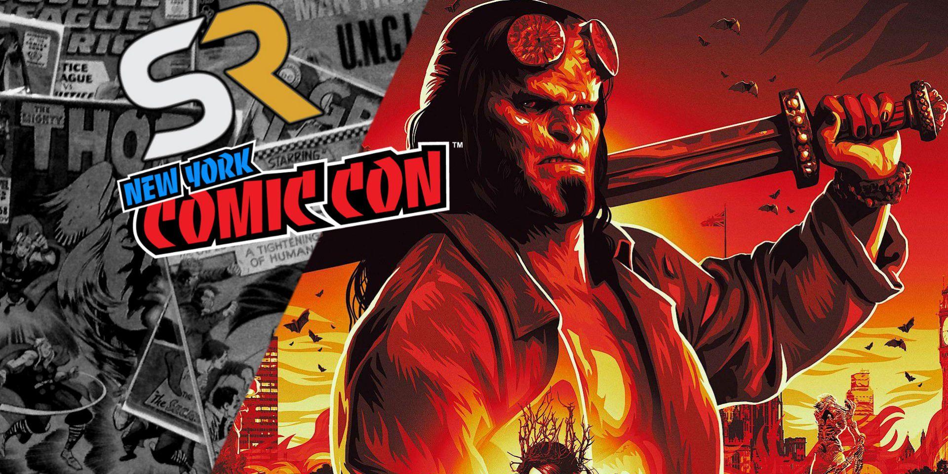 Hellboy NYCC Trailer D... Milla Jovovich Hellboy Reboot