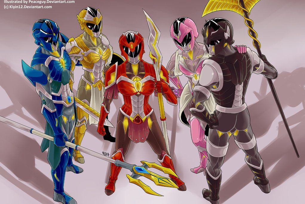 25 Crazy Power Rangers Fan Redesigns Better Than What We Got