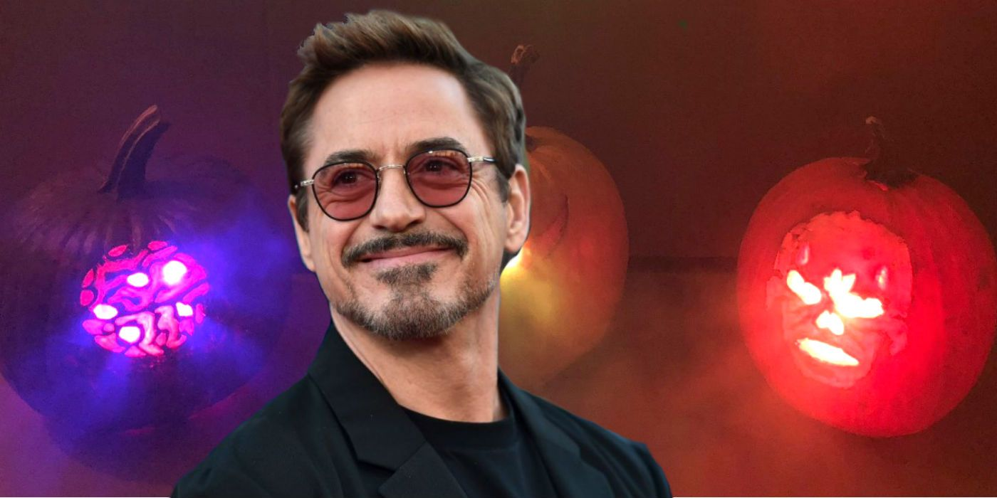Robert Downey Jr. Celebrates Halloween With Infinity Stone Pumpkins