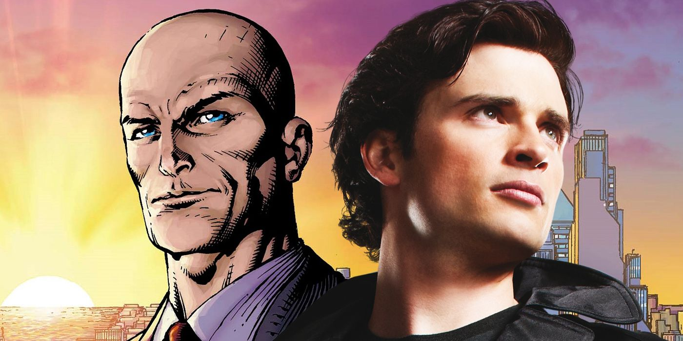 What Smallville's Tom Welling Could Look Like As Supergirl's Lex Luthor