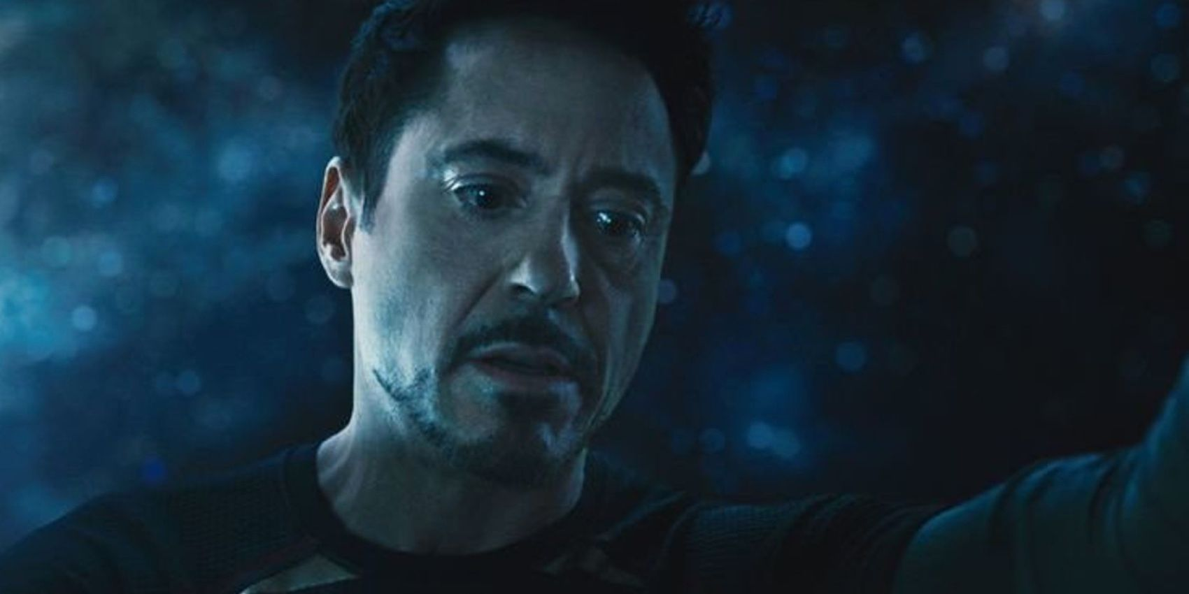 Tony's vision of the Future (Avengers: Age of Ultron), Tony Stark sees his worst fears in the vision of the future.