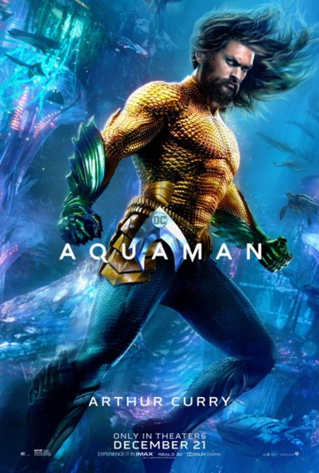 Aquaman de James Wan (2018) Avec Jason Momoa  - Page 15 Aquaman-Arthur-Curry-Solo-Poster