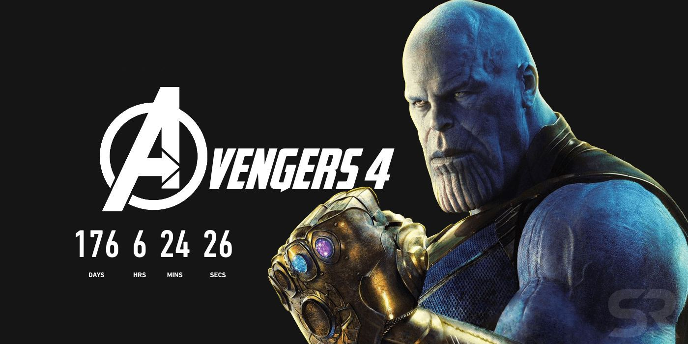 Avengers 4 Countdown Clock Launched by Marvel Studios