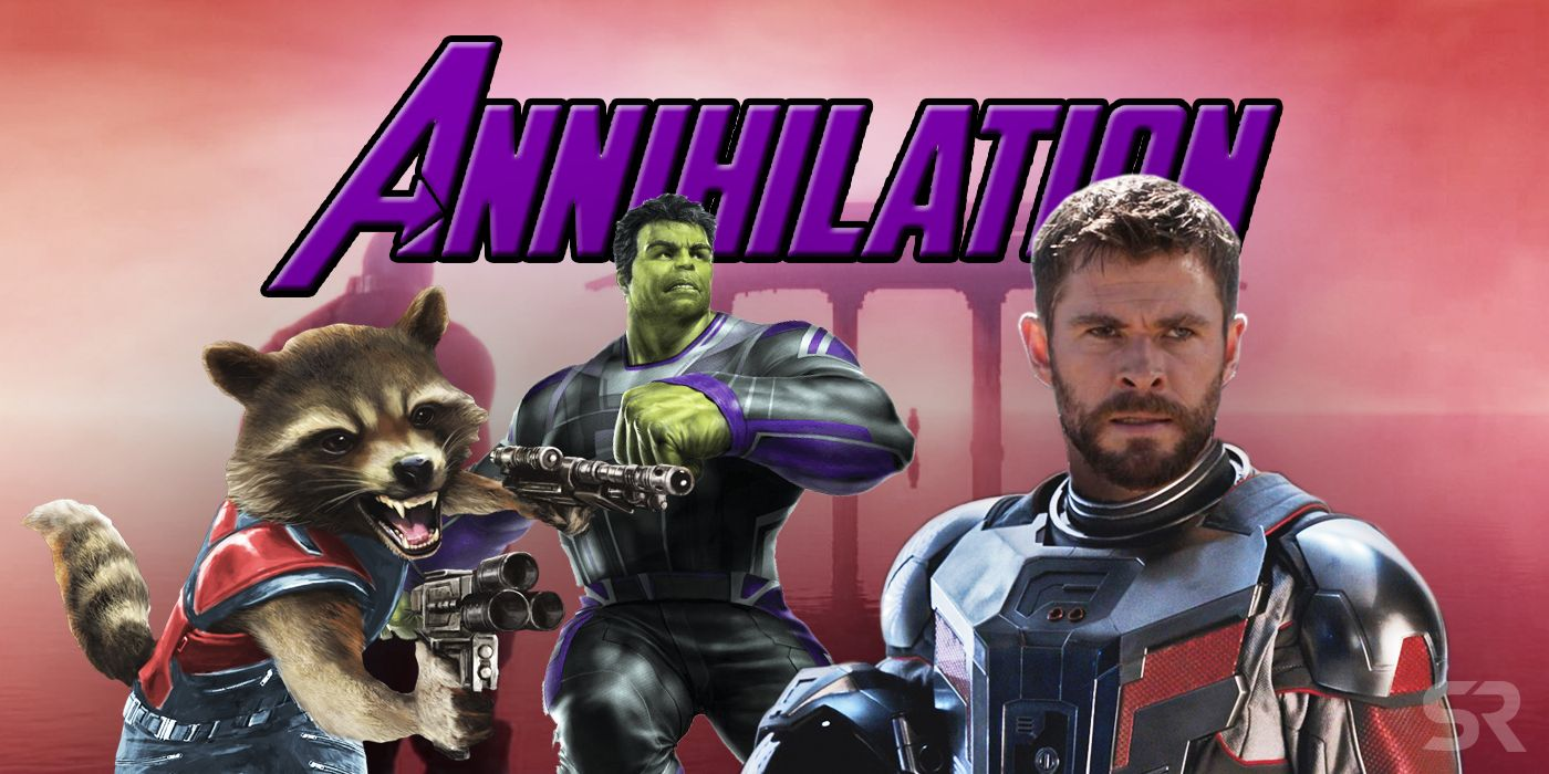 The Avengers: All The Evidence Avengers 4's Title Is Annihilation