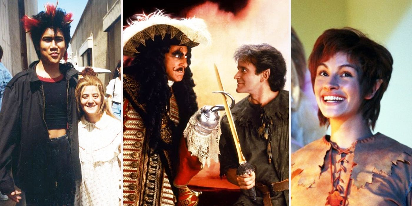 20 Wild Details Behind The Making Of Hook Screenrant