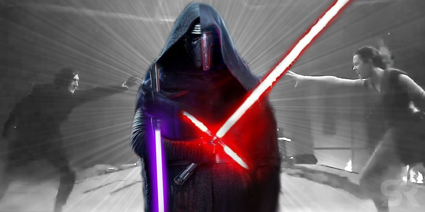 Star Wars 9 Theory Kylo Ren Is Redeemed Because Of Darth Revan