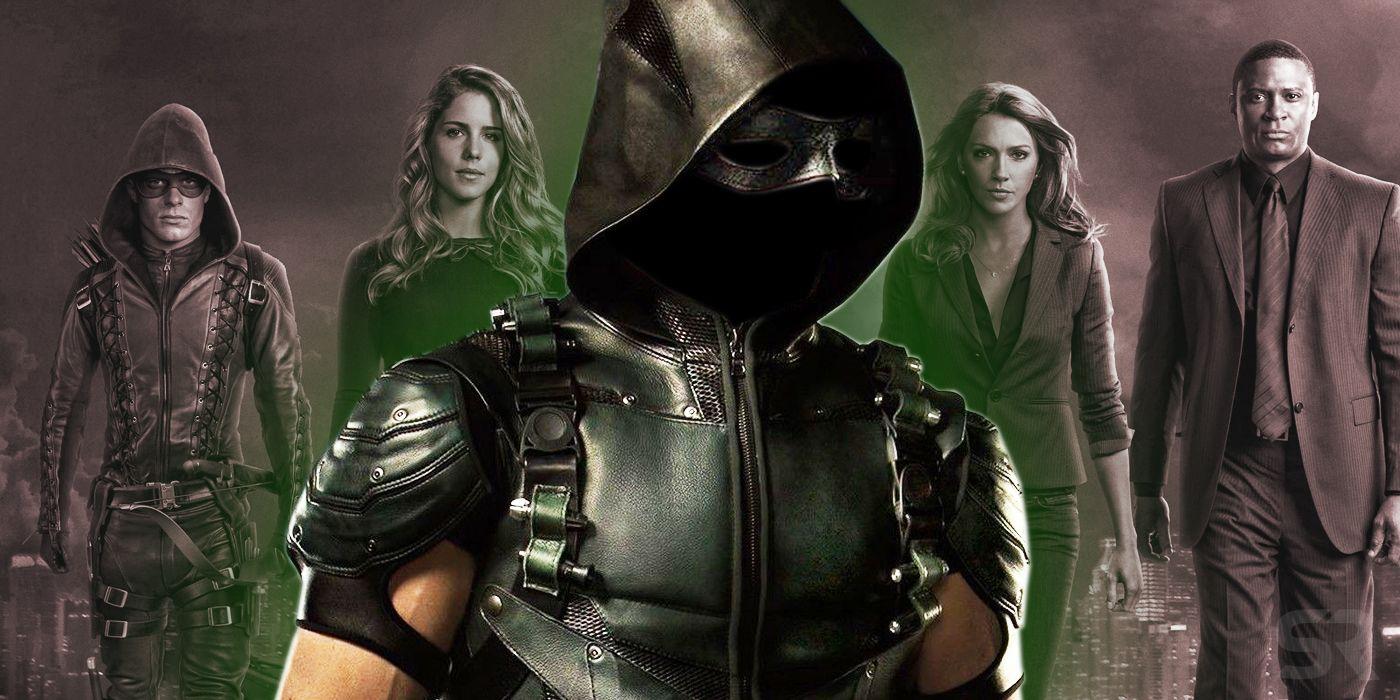 the new green arrow is definitely not in team arrow screenrant