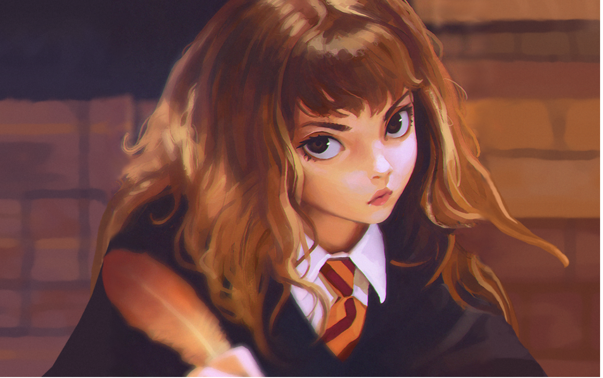 Harry potter 23 characters redesigned as anime characters