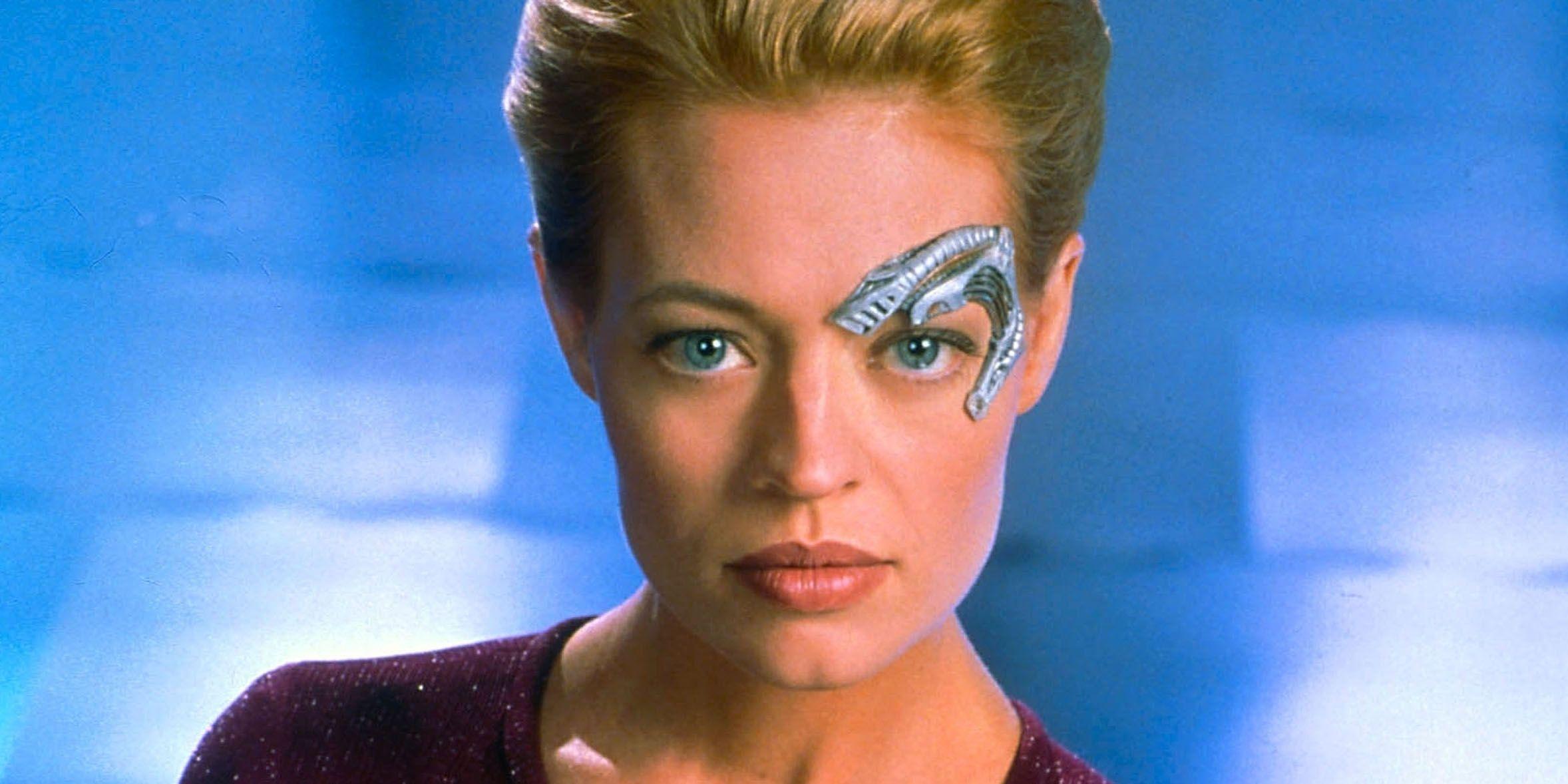 Star Trek: 20 Wildest Things Seven Of Nine Did Before Voyager