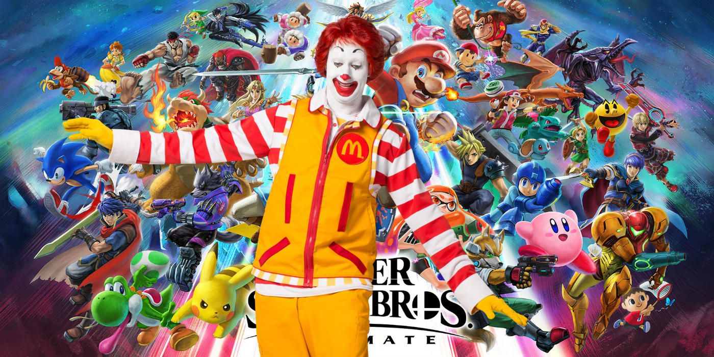 Sorry, Ronald McDonald Won't Be in Smash Bros  Ultimate