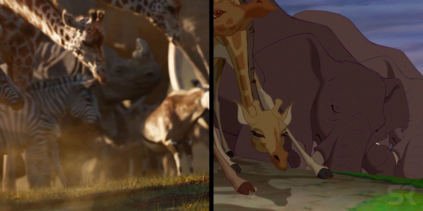 lion king remake  biggest changes made to the original